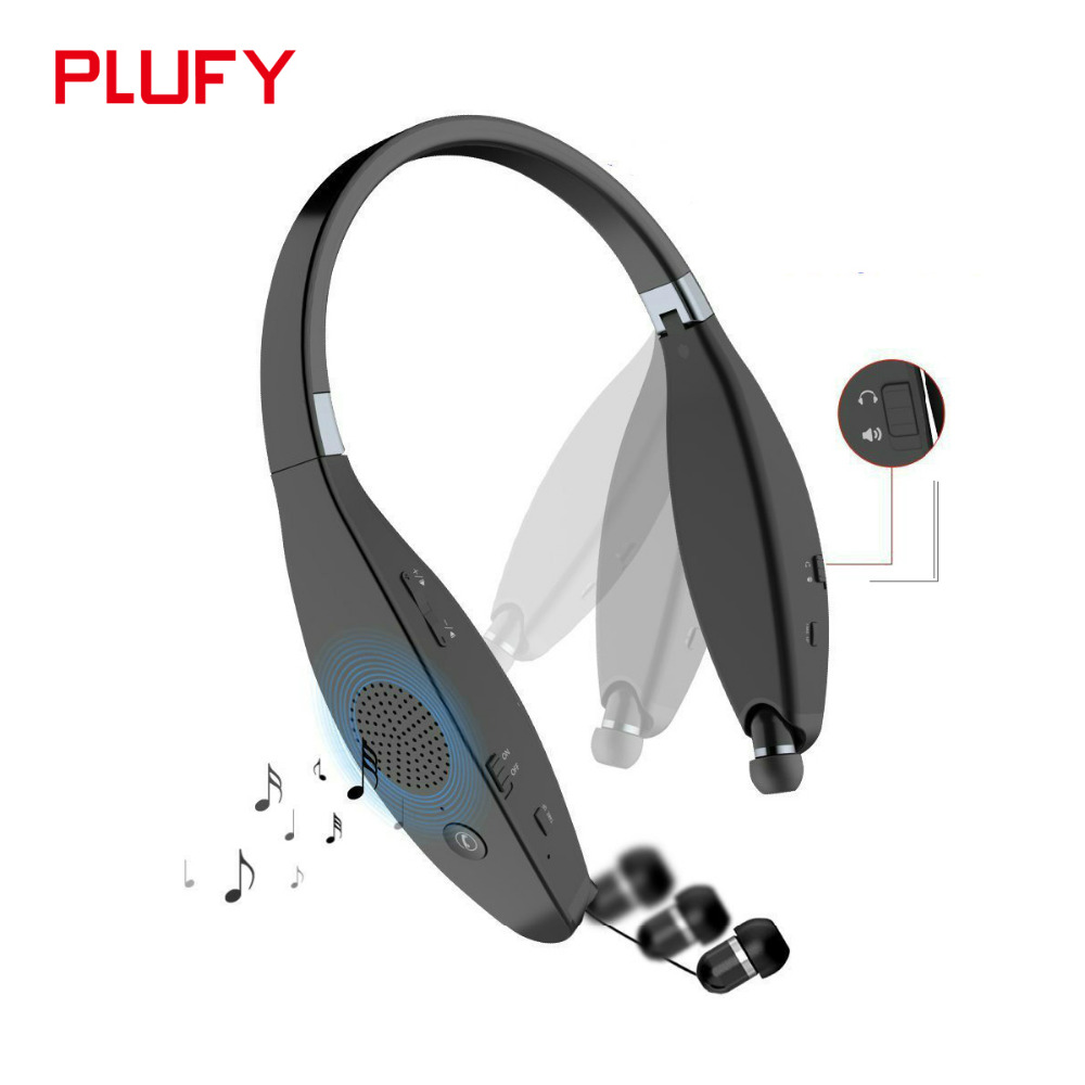 Plufy Bluetooth Earphone Headphone Wireless Speaker Sport Headphone Bass Stereo Headset Noise Cancelling For iphone Xiaomi L29 bluetooth earphone headphone for iphone samsung xiaomi fone de ouvido qkz qg8 bluetooth headset sport wireless hifi music stereo