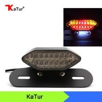 1pcs Motorbike Portable Integrated LED Brake Turn Signals Tail Lights Motorcycle Rear Turn Indicators Accessories Brake
