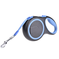 5M Retractable Dog Leash ABS Strong Pet Dog Walking Leashes Extending Puppy Walking Leads For Middle
