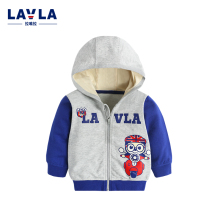 2016 Autumn LAVLA New Kids Coats Children's Clothing Boy Clothes Knitted Long Sleeve Jacket Cotton Hoodie Baby Clothes Top Bear