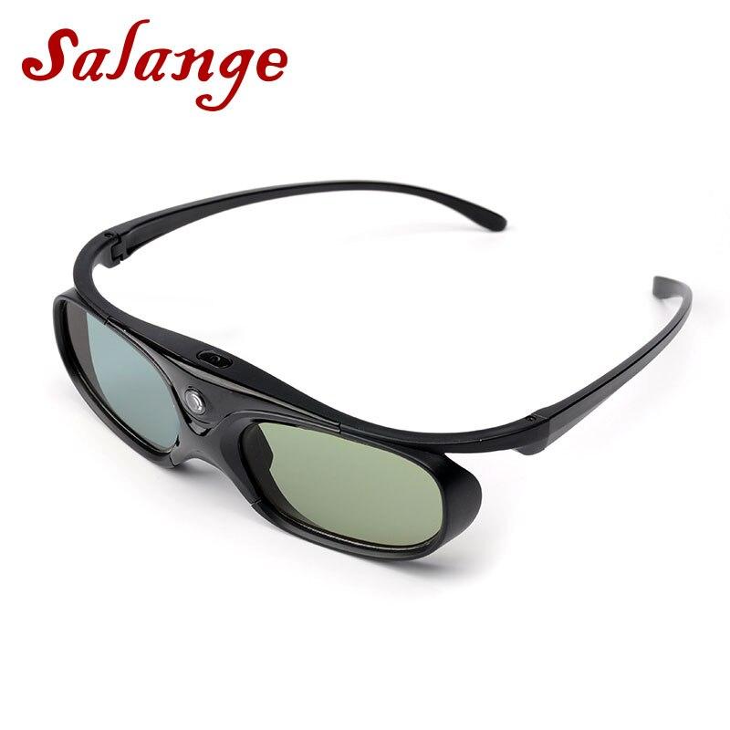 Óculos de Obturador Ativo com bateria Para XGIMI Salange 3D H1 H2 H1S Z6 CC Auora JMGO N7 outros DLP Projetor ligação Projetor