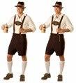 """Мужской костюм для косплея/вечеринок """"Октоберфест"""" рубашка+слинг брюки+шляпа"""