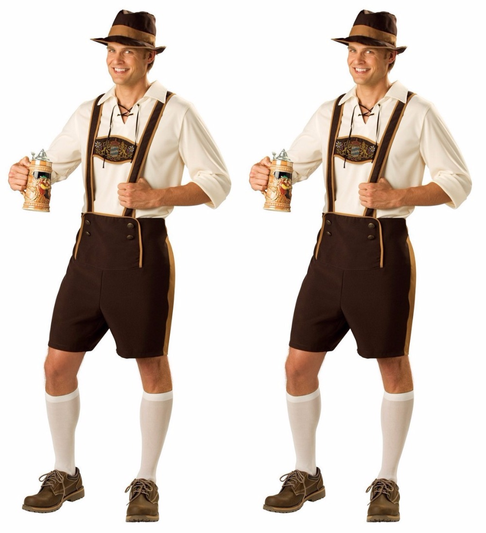 disfraces de halloween para hombres caliente festival de la cerveza oktoberfest cerveza alemana traje de adultos