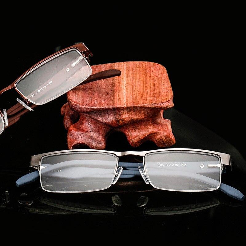 bc59634eca Cuadrado Gafas para leer hombres mujeres metal cómodo hyperopia Gafas  dioptrías Gafas gafas + 1.0 + 1.5 + 2.0 + 2.5 + 3.0 + 3.5 + 4.0 en De los  hombres ...