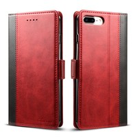 Luxury PU Leather Wallet Case For Apple IPhone 6 6S 7 Plus Flip Cover With Money