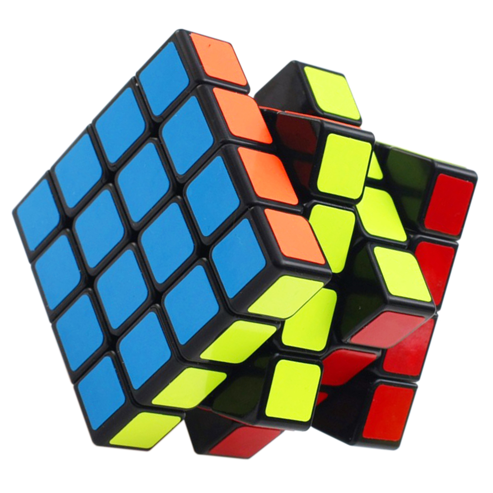 4 Layers YJ Cube Kids Toys for Chidlren YongJun 4*4 Speed Cubo Megico 4x4x4 Anti-stress Puzzle Magic Cube