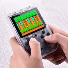 Retro Portable Mini Handheld Game Console 8-Bit 3.0 Inch Color LCD Kids Color Game Player Built-in 168 Game Player Kids Gift zeldaed game collecton 8 in 1 save file 16 bit gray game card for usa ntsc game player