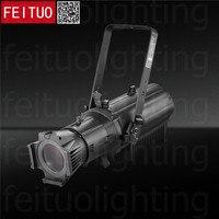 2018 New 400w LED Spot Leko Light COB Ellipsoidal Profile Light RGBW 4IN1 Studio Theater TV Aluminum Projector Show Spotlight