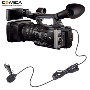 Image 4 - CVM V02O Phantom Power Omni directional XLR Lavalier Lapel Microphone for Canon Sony Panasonic Camcorder Mic for ZOOM Recorders