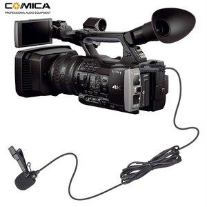 Image 4 - CVM V02O פנטום כוח omni directional XLR Lavalier דש מיקרופון עבור Canon Sony Panasonic למצלמות מיקרופון עבור זום מקליטי
