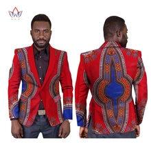 Customized Print Elegant Blazers Men Africa Clothing Style Suit Coat Fashion Slim WYN169