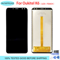 100% TESTED For Oukitel k6 LCD Display And Touch Screen Digitizer Assembly Replacement Accessories For Oukitel K 6 Phone + Tools