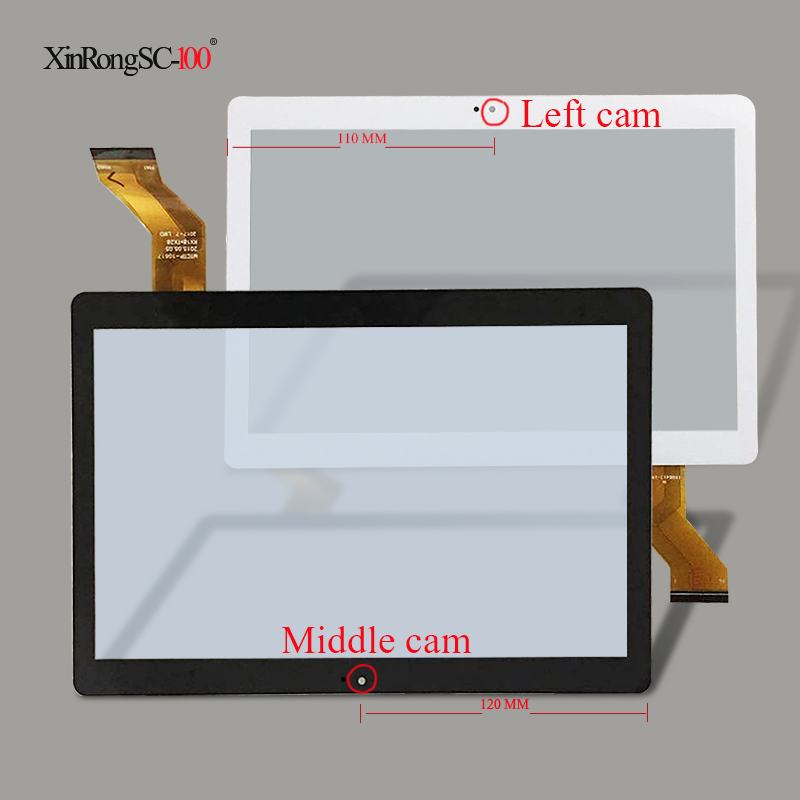 New 10.1 inch Touch Screen Digitizer for WayWalkers CIGE Mx960 A5510 T805G T805C T805S Tablet Touch Screen