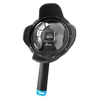 6'' Dome Port for GoPro Hero 3+ 4 with Extra LCD Screen Clip and Shading Cover Lens Hood 2.5 Version