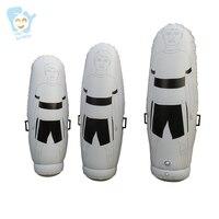2m/ 1.8m/ 1.6m Adult Children High Inflatable Football Training Goal Keeper Tumbler Air Soccer Dummy Mannequin