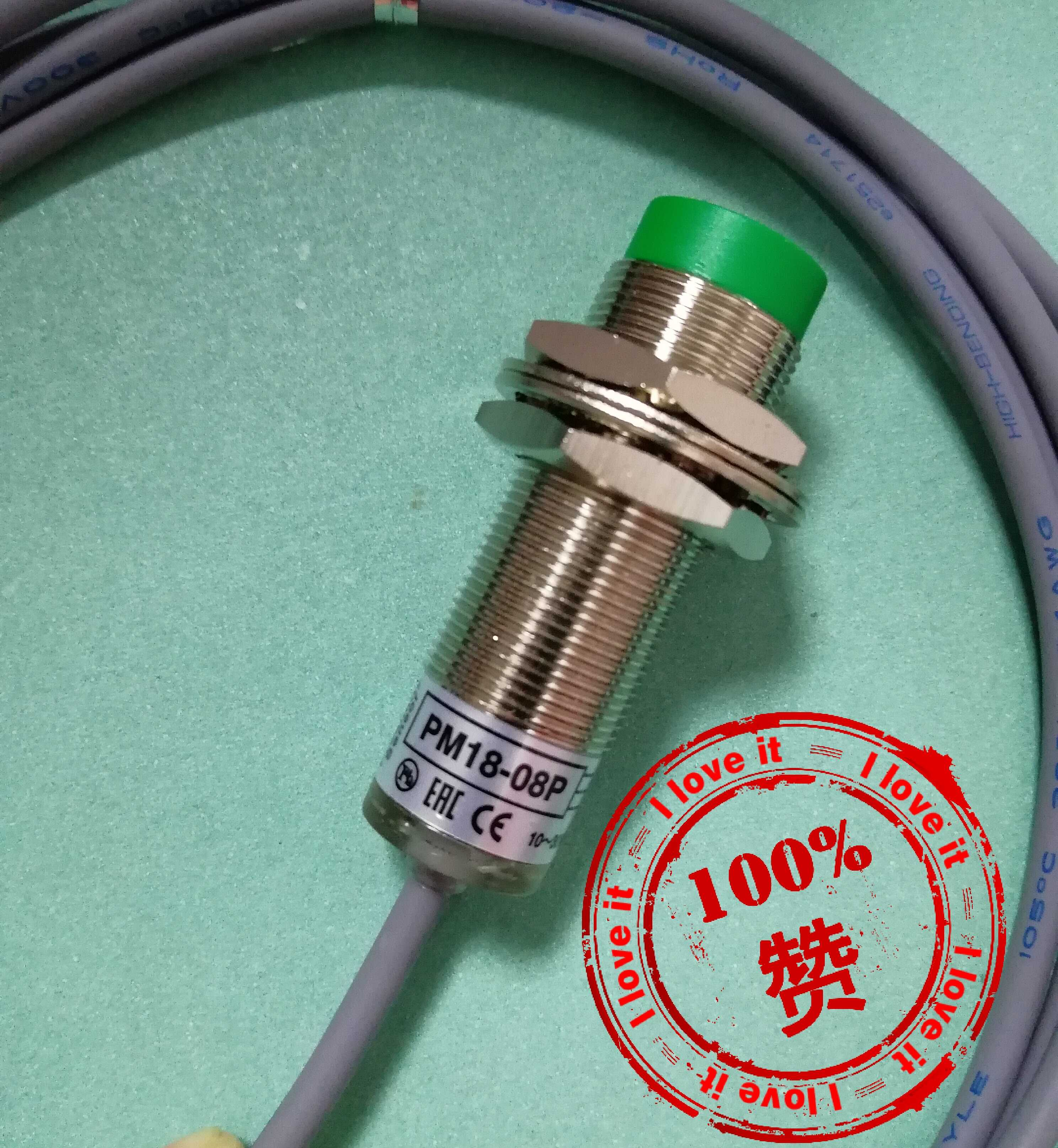 New Original pm18-08P Proximity Switch PNP Normally Open Inlet Sensor 3 Line PMNew Original pm18-08P Proximity Switch PNP Normally Open Inlet Sensor 3 Line PM