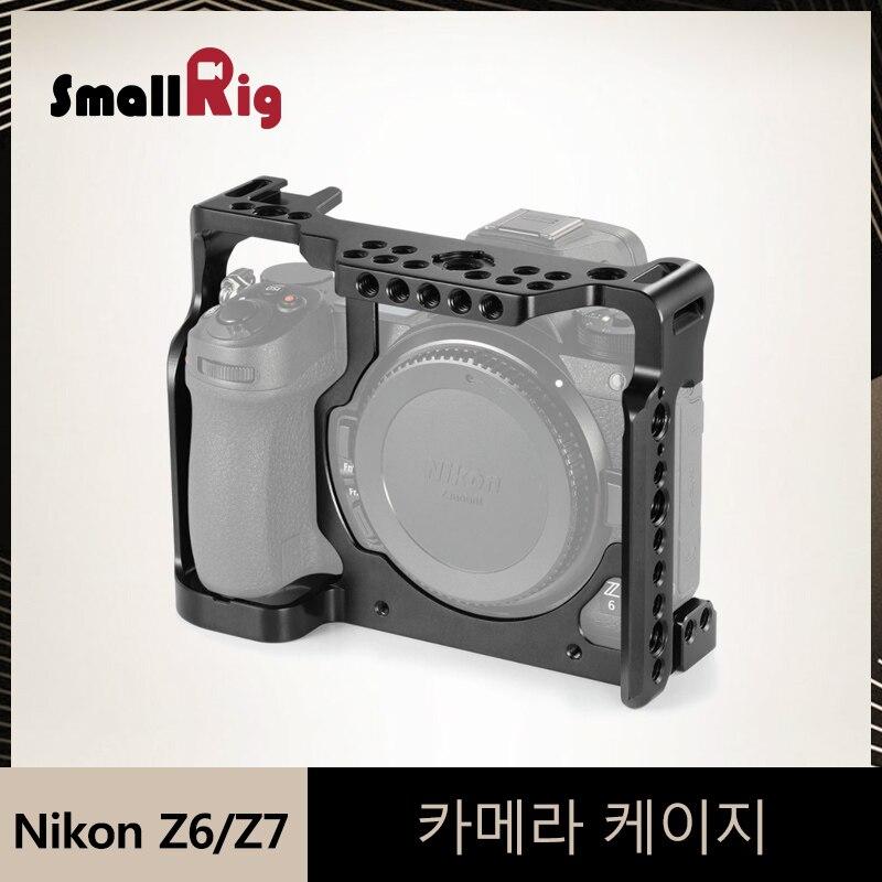 SmallRig Z6/Z7 Camera Cage for Nikon Z6/ Nikon Z7 Protective Aluminum Alloy Cage For Dslr Video Tripod Shooting Cage Kit 2243