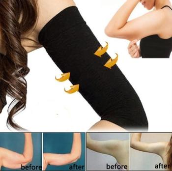 2Pcs Weight Loss Calories off Slim Leg Arm Shaper Massager Sleeve Slimming Wraps Arm Weight Loss Fat Burning Face Lift Tool