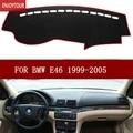 Auto dashmats auto styling zubehör armaturenbrett abdeckung für BMW 3 Serie (E46) 316I 320I 318I M3 1998 1999 2001 2002 2003 2005 Auto-Anti-Schmutz-Pad    -