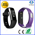 China manufacture 2016 newest health assistant waterproof bracelet smart watch with Blood oxygen monitoring for elder