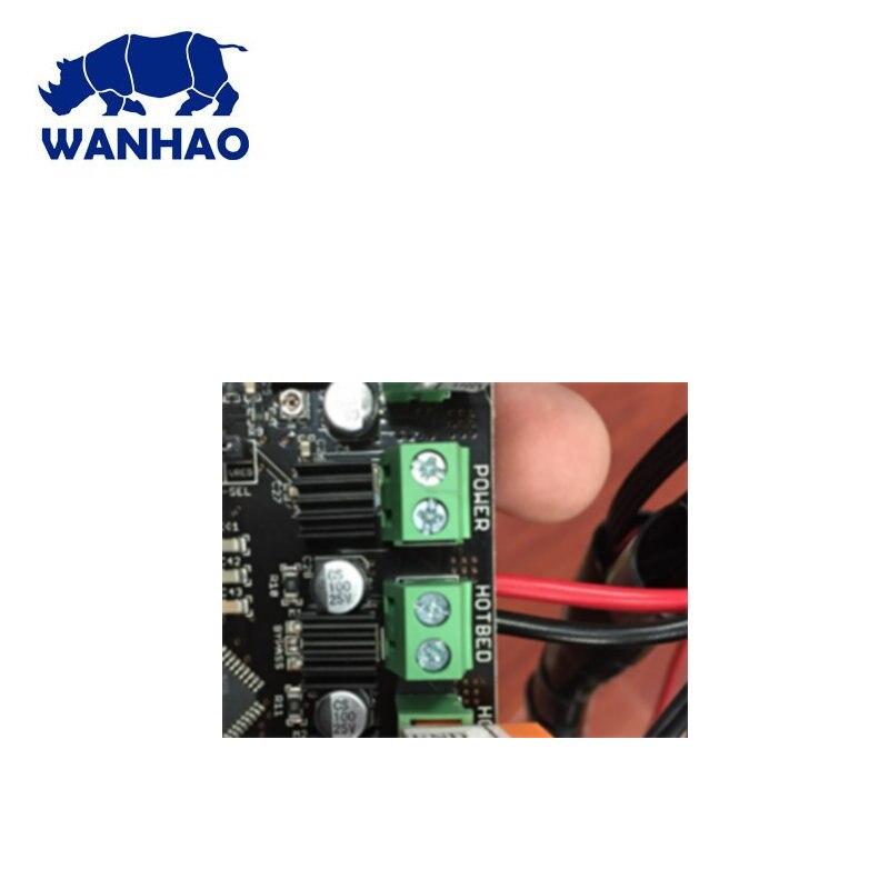 Original WANHAO 3D Printer Spare Parts Wanhao mother board I3 main board D6 Motherboard D5 Motherboard