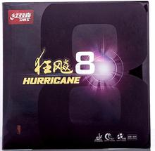 NEW Arrival Original DHS Hurricane 8 For New Ball High Tacky-Speed Table Tennis Rubber/ Ping Pong Rubber