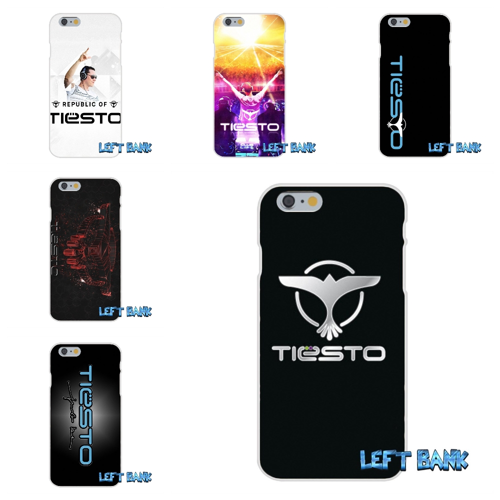 For iPhone 4 4S 5 5S 5C SE 6 6S 7 Plus Dutch DJ Tiesto Logo Soft Silicone TPU Transparent Cover Case