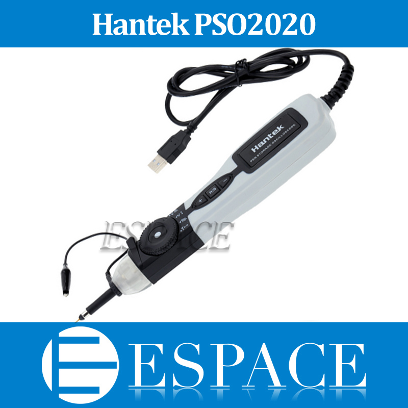 New Hantek PSO2020 20MHz Bandwidth Portable USB Pen Storage Oscilloscope free shipping