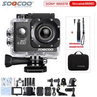 Original SOOCOO S100 4K 24fps 2K 30fps Wifi 20MP Waterproof 30m Gyro Mini Sports Action Camera
