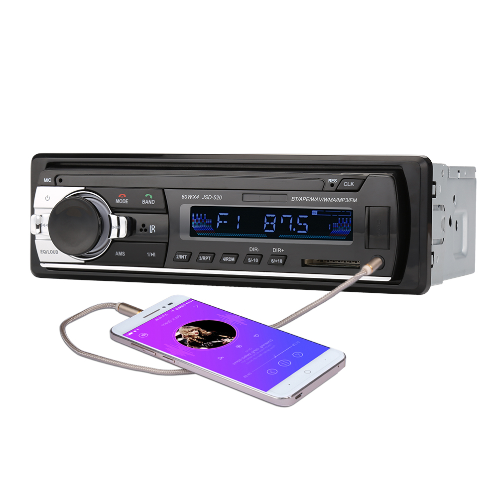 1 Din 2,5 Zoll Auto Radio MP3 Multimedia Auto Audio Player Mit ...