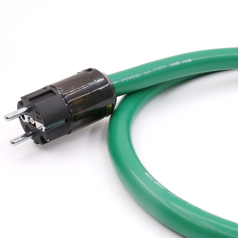 Free shipping MCINTOSH 2328 power line HIFI POWER CABLE Power Cord with EU Plug AC cable line