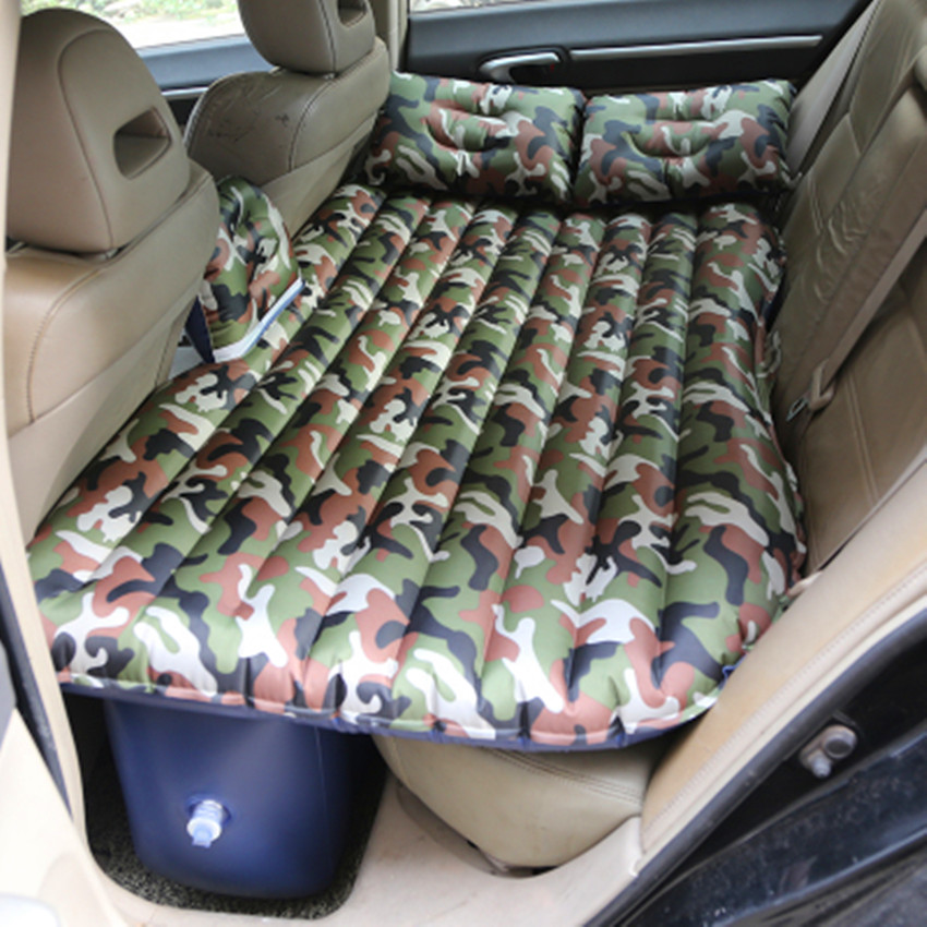 Opblaasbare Matras Luchtbed Opblaasbare Auto Bed Auto Back Seat Cover Air Matras Reizen Bed Lit Voiture Matelas Voiture Uitstekende (In) Kwaliteit