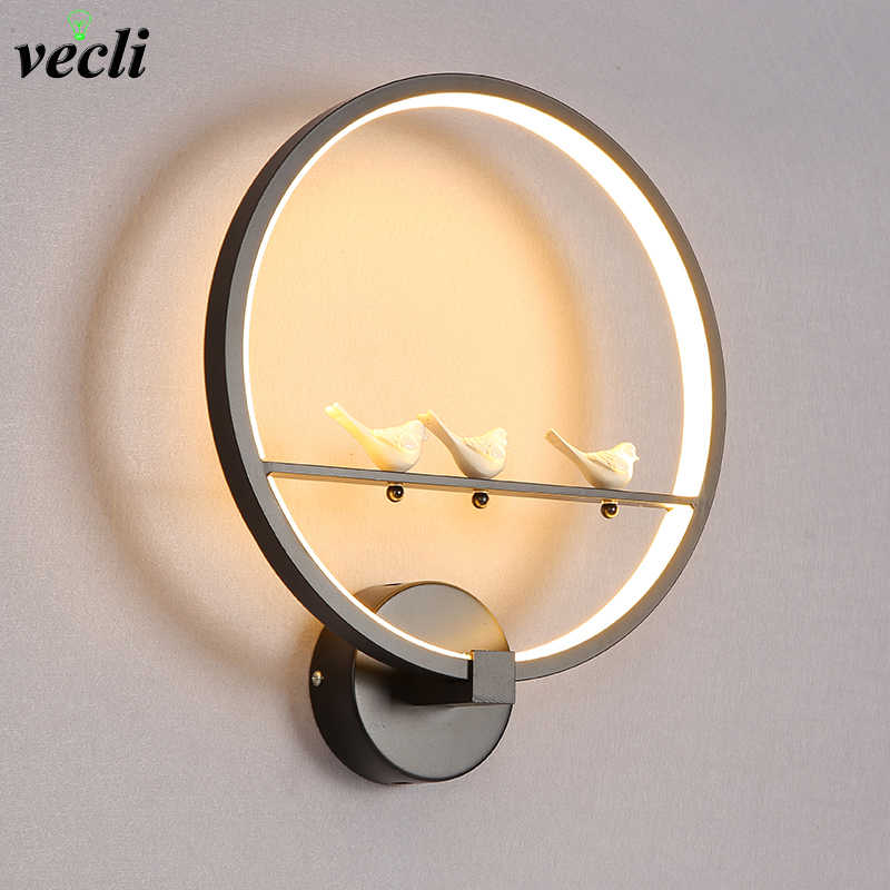 18W LED Wall Lamp Modern Bedroom Beside Wall Light Indoor Living Room Dining Room Corridor Lighting Decoration bra