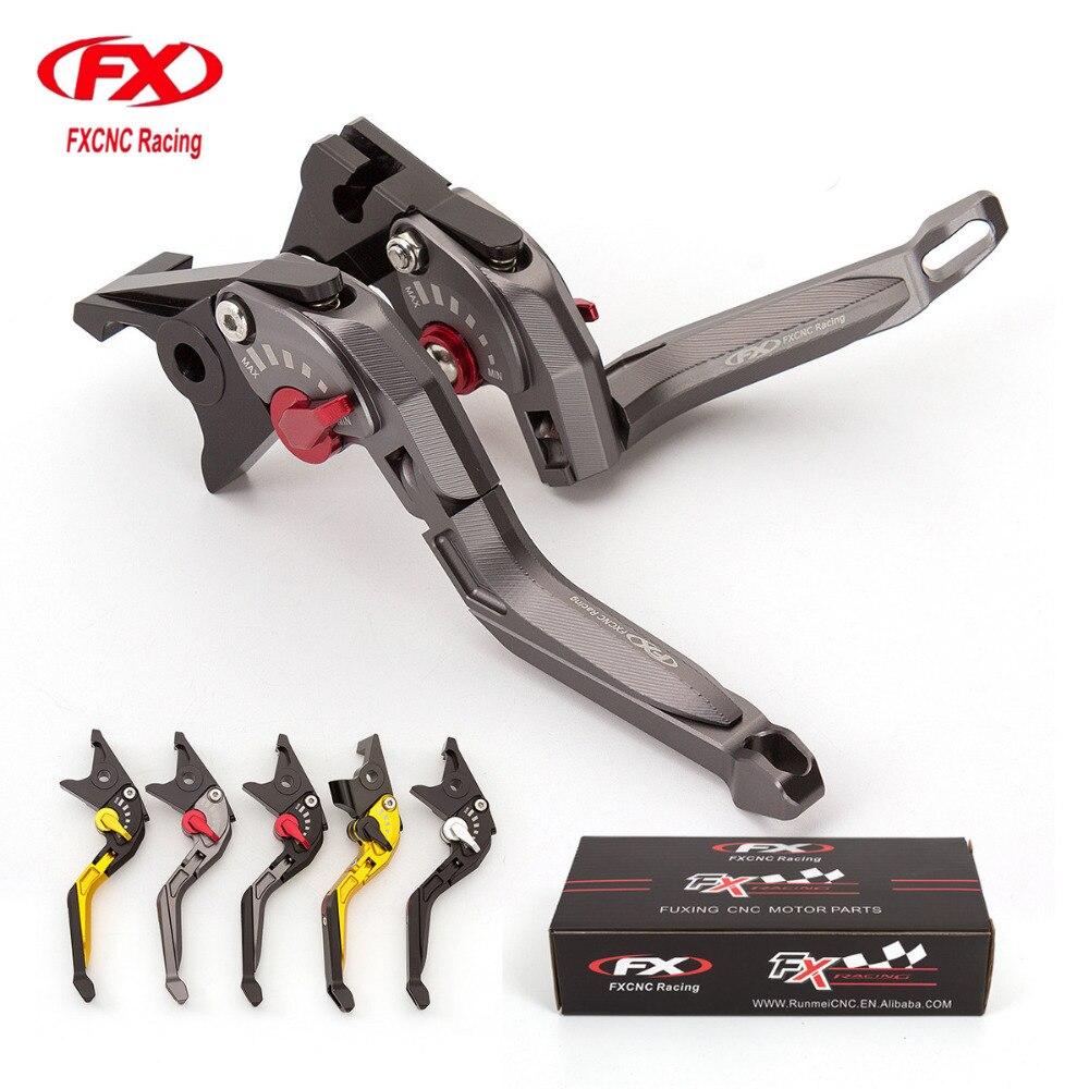 For Honda CBR 600 F2 F3 F4 F4i 1991 2007 Adjustable Folding Extendable Brake Clutch Levers For CB599 CB600 HORNET 1998 2006