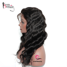 Brazilian Human Hair Wigs For Women 130% Density Full Lace Human Hair Wigs Ever Beauty Remy Body Wave Natural Black Hair