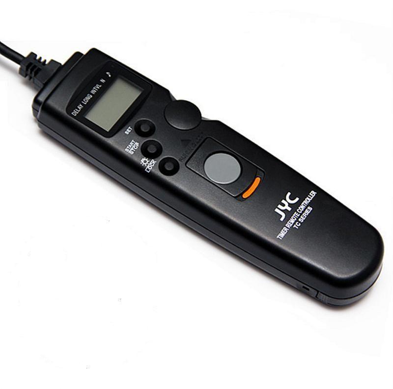 Viltrox Camera LCD Timer Remote Control Shutter Release Cable For Cano
