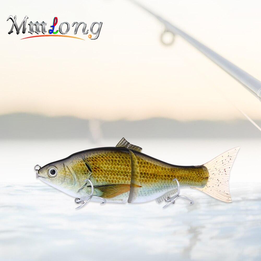 MmLong 15.2 см Составник большой Рыбалка приманки al16-s 50 г 2 сегментов Искусственные воблеры Медленно Sinking Карп живца снасти ...