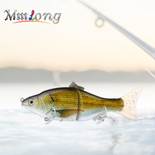 Mmlong 15.2cm Jointed Swimbait Big Fishing Lure AL16-S 50g 2 Segments Artificial Crankbaits Slowly Sinking Carp Bait Fish Tackle
