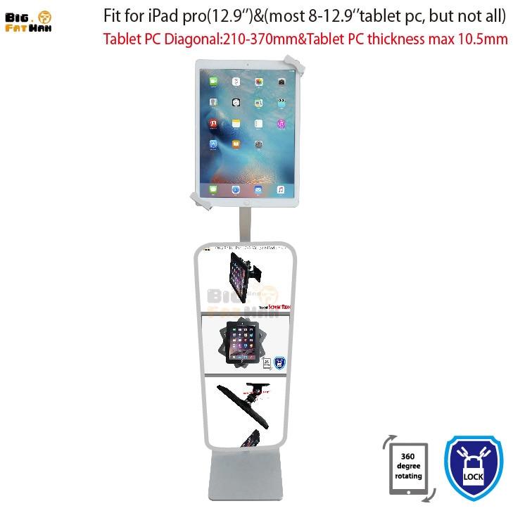 Tablet pc Oğurluq əleyhinə ekran döşəməsi, iPad səthinə - Planşet aksesuarları - Fotoqrafiya 3