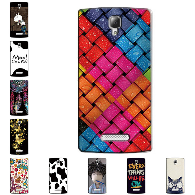 Hard Case for Lenovo A2010-a A 2010  Slim Back Cover UV Painting PC Shield Protective Case for Lenovo A2010-a A 2010 Skin Bags