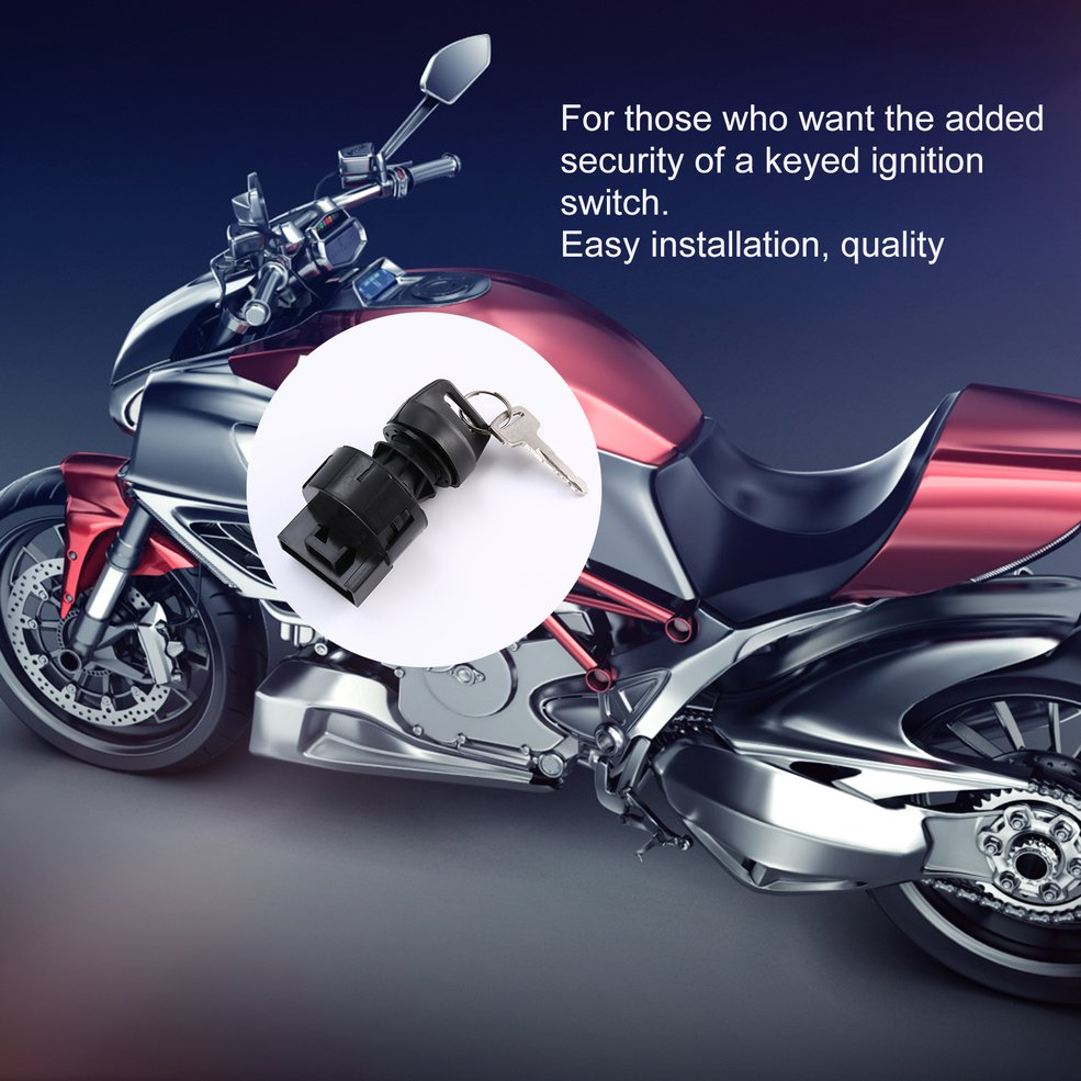 Ignition Key Switch Fits Polaris Sportsman 800 Efi 2005 2006 2007 Atv