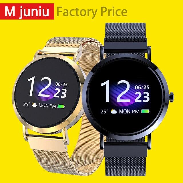 Mjuniu cv08c модные часы Smart Watch классический bluetooth-браслеты, крови Давление/кислорода в крови/сердечного ритма измерительный трекер cv08c PK Q8