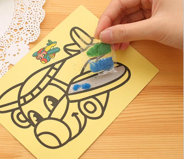 5pcslot-Children-Kids-Drawing-Toys-Sand-Painting-Pictures-Kid-DIY-Crafts-Education-Toy-2