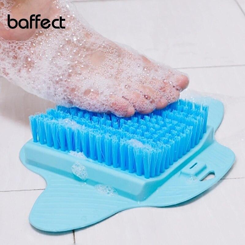 Pie cepillo masaje pies pedicura herramienta cepillos exfoliante Spa ducha eliminar la piel muerta cuidado de los pies herramienta Dropshipping