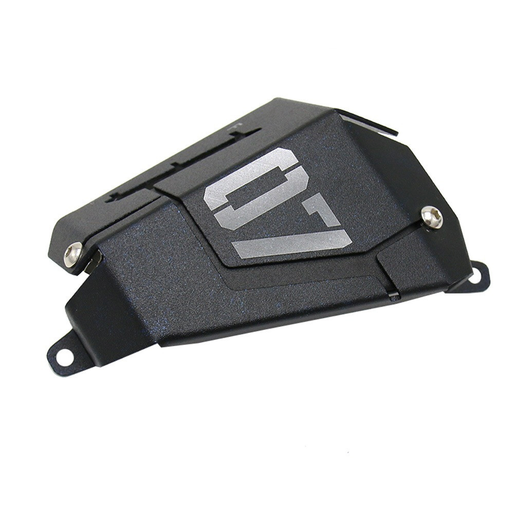 Image 5 - MT07 FZ07 Coolant Recovery Tank Shielding Cover For Yamaha MT 07 FZ 07 MT 07 FZ 07 2014 2015 2016 2017 2018 2019-in Covers & Ornamental Mouldings from Automobiles & Motorcycles