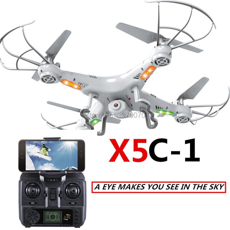 X5C-1 X5C 2.4G RC Helicopter Quadcopter Drone Con/Senza Fotocamera o Modalità Modalità Wifi Della Macchina Fotografica Senza Testa Ritorno Automatico