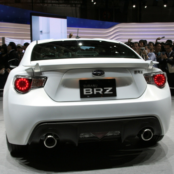 GT86 BRZ Xe Syling Rear Lip Spoiler Wing cho Toyota GT86 BRZ 2012-2015 ABS