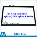 "Perfect New 15.6"" For Asus Vivobook Q550 Q550L Q550LF Series Laptop Touch Screen Glass Panel + Digitizer Replacements Lens"