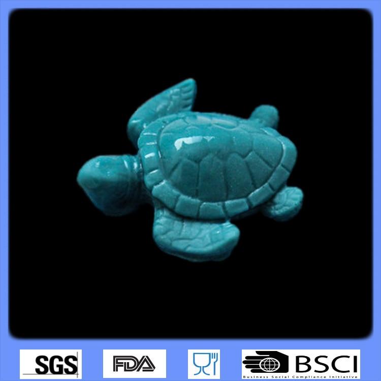 3D silicone fondant mold sugar art chocolate mold turtle shaped cake