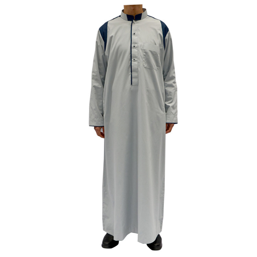 9605b98dfbab 2019 New Muslim Clothing for Men Islamic Men Jubba Thobe Robes Saudi Arab  Dubai Traditional Abaya Islam Man s Clothes 52~60